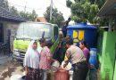 Bhabinkamtibmas Kesenden Monitoring penyaluran Air bersih