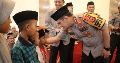 Jalin silaturahmi Polres Cirebon Kota gelar Buka Puasa  bersama TNI,Ulama ,dana Anak Yatim   Ramadhan 1440 H