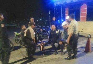 QR Polsek KPC Sambangi Pos Satpam Ajak Harkamtibmas
