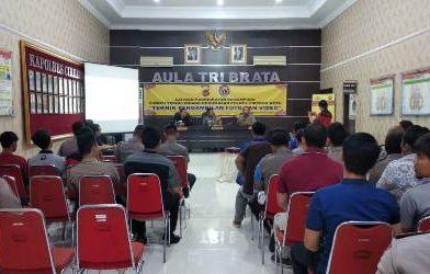 Polres Cirebon Kota gelar Latpuan Teknis Kehumasan dalam Pengambilan Foto dan Video