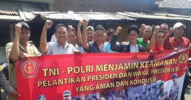 Sejumlah Tokoh Kota/Kab.Cirebon Berikan Dukungan Kepada TNI-POLRI