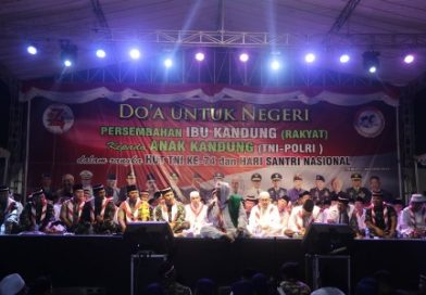 Doa Untuk Negeri Peringati HUT TNI ke 74 dan Sambut HSN Tahun 2019