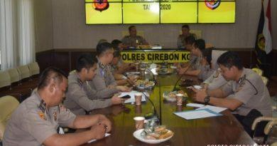 Dukung pelaksanaan Tugas , Polres Cirebon Kota gelar Rapat Persiapan pengadaan Tahun 2020