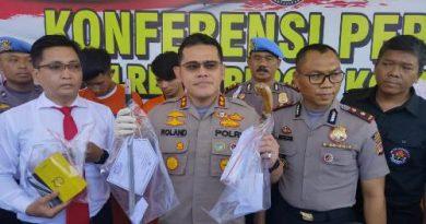Polres Cirebon Kota berhasil Ungkap Para pelaku  perampasan Handpone  pedagang Roti