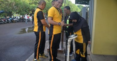 Polres Cirebon Kota gelar Program Penurunan  Berat badan