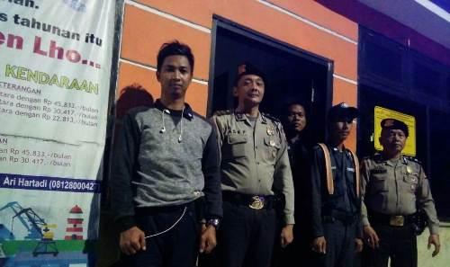 QR Polsek KPC Tingkat Patroli Sambang anjangsana Pos Satpam Pelabuhan