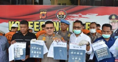 Para Pelaku Pengedar Narkoba di Tangkap Sat Narkoba Polres Cirebon Kota