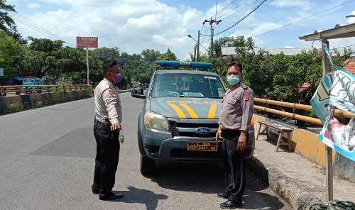 Patroli Polsek Gunung Jati Polres Ciko Sambangi Titik rawan kejahatan secara Mobile
