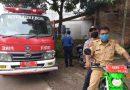 Upaya Antisipasi  virus Covid 19 Bhabinkamtibmas Polsek Seltim Polres Ciko Semprot Disinfektan