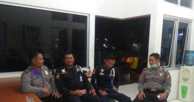 QR Polsek KPC  Polres Ciko sambangi Pos Satpam melalui Patroli dialogis