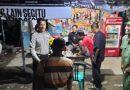Bhabinkamtibmas Lemahwungkuk  Polres Ciko gelar Patroli Social Distancing cegah penyebaran virus (Covid-19)