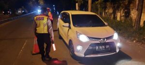 Polsek Lemahwungkuk Lakukan Kegiatan PSBB di Check Point Lemahwungkuk Ops Ketupat Lodaya Tahun 2020 Polres Cirebon Kota