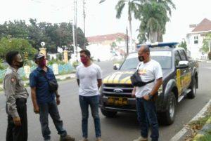 Sabhara QR 4108A Polsek Lemahwungkuk Polres Ciko Patroli Monitoring Aksi Vandalisme