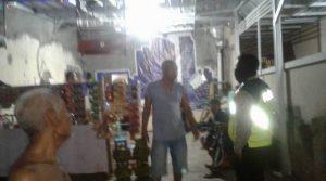 Patroli Polsek Utbar Polres Ciko Himbau warga Bubarkan diri,Upaya Cegah Penularan Virus Covid 19