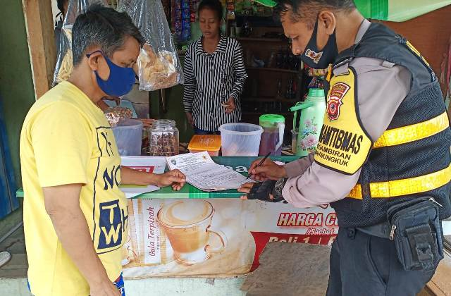 "Aiptu Maman Surakhman, Bhabin Pegambiran Polsek Lemahwungkuk Polres CIKO Giat Sambang Program ""GUNUNG JATI"""