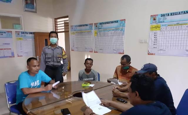 Bhabinkamtibmas Desa Kalibaru kedawung Polres Ciko Bripka Indra Wijaya Kusuma.A.Md.Kep. pecahkan masalah warga dengan Problem Solving