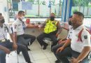 Peduli Keamanan Kawasan Pelabuhan Cirebon, Unit Binmas Polsek KPC Polres CIKO Melaksanakan Binluh Satpam Pelabuhan Kejawanan