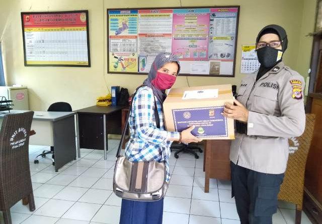 Binmas Polsek Utbar Polres CIKO Kembali Serahkan Bantuan Bergulir Dari Pemerintah Kepada Pelaku Usaha Pariwisata Terdampak Covid-19