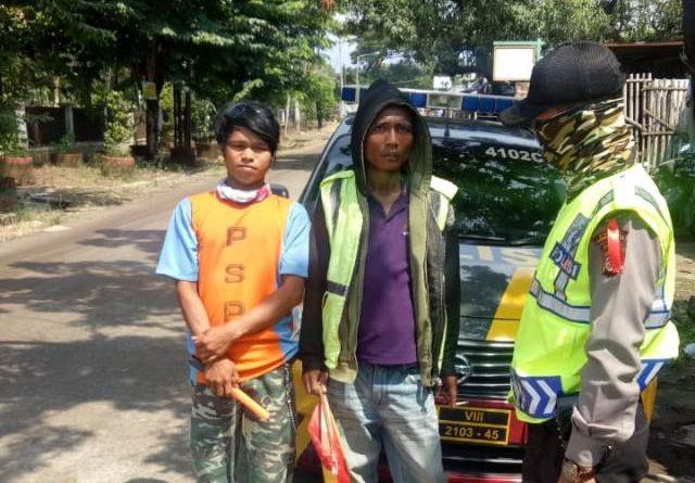 Parkir Liar Target Dari Patroli Sabhara 4102 C, Polsek Seltim Polres Cirebon Kota
