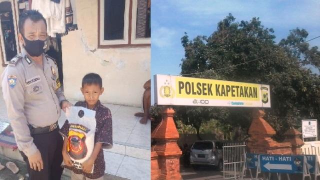 Kapolres Cirebon Kota Peduli Anak Yatim: Bagikan Sembako Melalui Bhabinkamtibmas Desa Kapetakan Polsek Papetakan, Bripka Yudhi Pramono