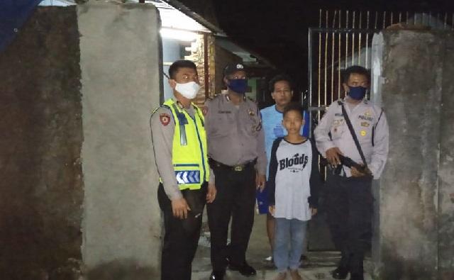 Piket Fungsi Polsek Gunung Jati Polres Cirebon Kota Melaksanakan Antisipasi Tawuran Desa