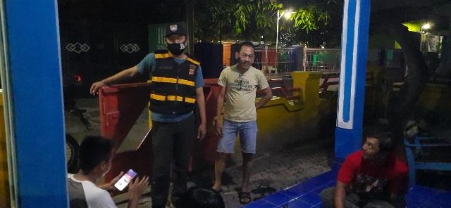 Bhabinkamtibmas Desa Pasindangan Aipda Gunawan SE Gunung Jati Polres CIKO, Sambang Ke Warga RT 01