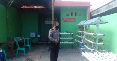 Kanit Binmas Polsek Lemahwungkuk Polres Cirebon Kota Ipda Dadang Sopari, Pengecekan rutin Kampung Tangguh Lodaya