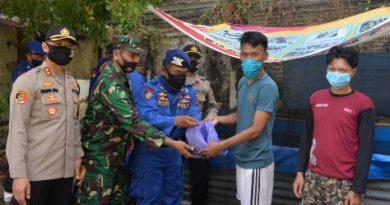 Sat Polair Polres Cirebon Kota Melaksanakan Panen Ikan Lele Serentak Dalam Rangka Ketahanan Pangan Nasional