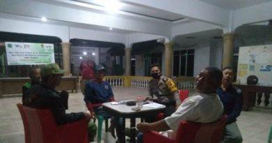Masa Covid-19, Bripka Inasnul Bhabinkamtibmas Gunung Jati Polres Ciko Diskusi Bersama Warga  sampaikan  AKB