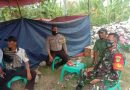 Sambang Kordianasi  Brigadir Dodi Bhabinkamtibmas Kapetakan Polres Ciko sosialisasikan AKB Cegah Virus Covid 19