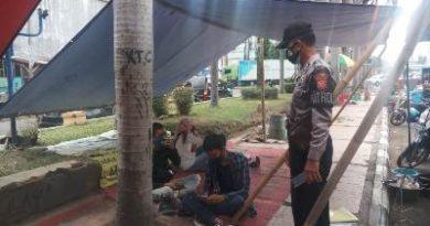 Polsek Lemahwungkuk laksanakan Ops yustisi sambil Patroli Sabhara QR 4108A