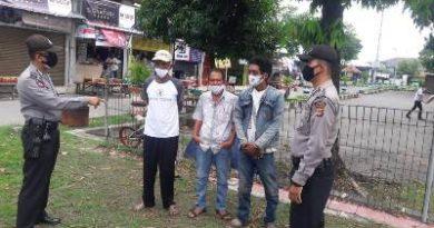 Polsek Cirebon Utara Barat laksanakan ops yustisi
