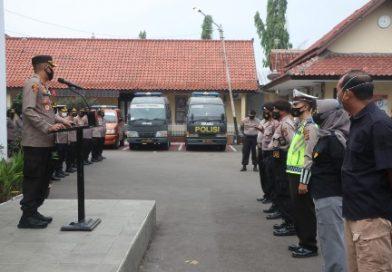 Ops ketupat lodaya 2021 Selesai, Kapolres Cirebon kota, sisakan 2 Pos guna pantau arus melalui KRYD