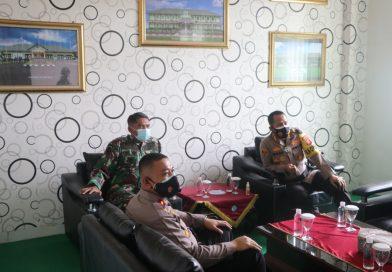 Sejumlah pimpinan TNI-POLRI dikunjungi Kapolres Cirebon Kota, jelang berakhirnya Ops Ketupat Lodaya 2021