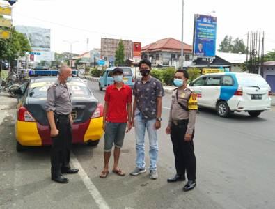QR Polsek Kedawung  Polres Ciko , gelar patroli KRYD antisipasi kejahatan serta Himbau warga prokes 5M dalam OPS yustisi