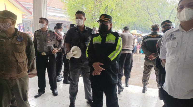 Kapolres Ciko,Turun Langsung ke desa-desa Cek Kesiapan di TPS jajaran polsek wilkum Polres cirebon kota